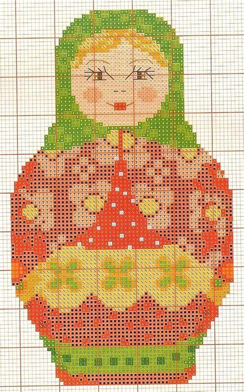 matryoshka pattern pinterest matryoshka hama perler beads pattern cross stich