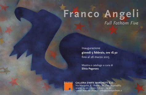 franco angeli sede franco angeli fathom five opere anni 50 80