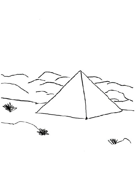 free coloring pages of pyramids