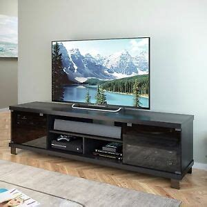 tv stand  flat screens credenza entertainment center cabinet   console ebay