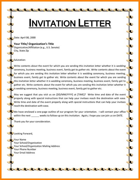 Business Letter Kaise Likhe an invitation letter for a birthday letters free