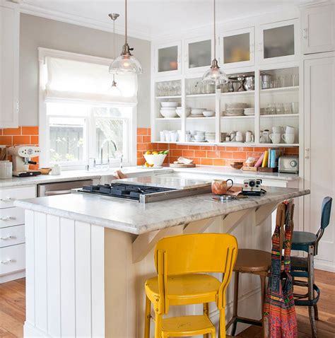 orange and white kitchen ideas 2018 2018 kitchen trends beautiful botanicals to woodsy breakfast bars