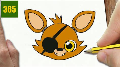 imagenes de fnaf kawaii como dibujar foxy de fnaf kawaii paso a paso dibujos