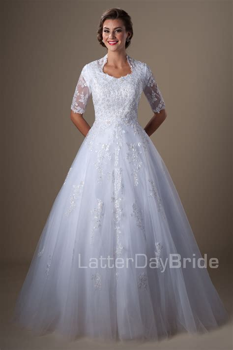Modest Wedding Dresses by Modest Wedding Dresses Bronson