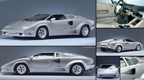 Lamborghini Countach Pictures by Lamborghini Countach 25th Anniversary 1989 Pictures