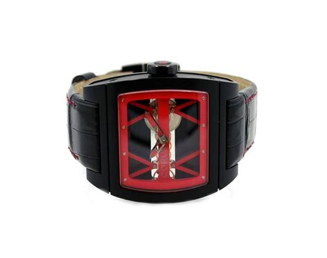 Corum Golden Bridge Ref 007 corum titanium bridge black pvd limited edition
