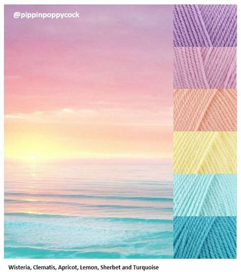 color inspiration best 25 yarn color combinations ideas on