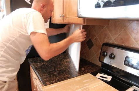 a renter s kitchen - How To Remove Beadboard