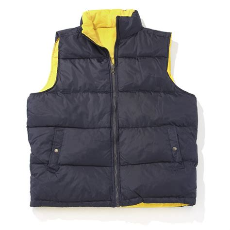 Reversible Vest reversible vest navy yellow 172351 vests at