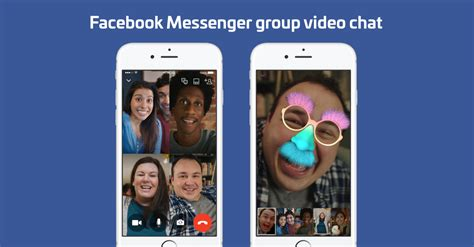 video call layout facebook messenger launches group video chat for up to 6