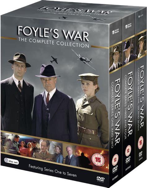foyle s war season 10 foyle s war series 1 7 dvd zavvi com