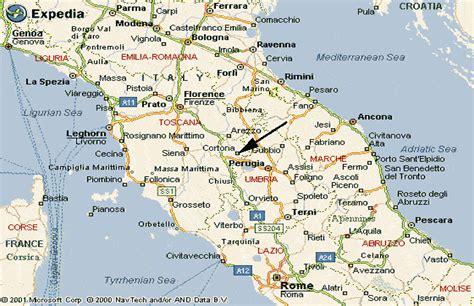 tuscany italy map in tuscany