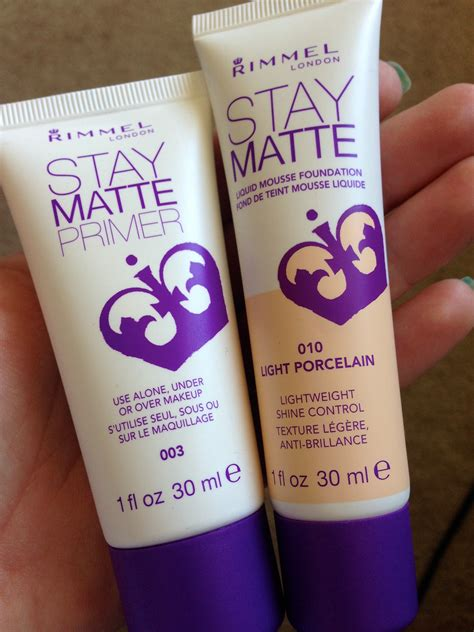 Review Rimmel Stay Matte Primer rimmel stay matte foundation and primer review