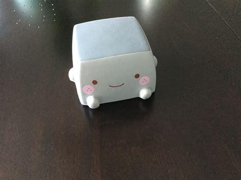 hannari tofu squishy mascot gray not in original