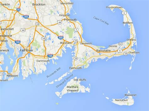map of the cape cod maps of cape cod martha s vineyard and nantucket
