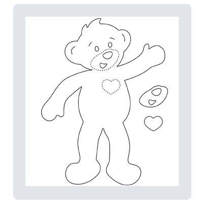 coloring pages build a bear best photos of build a bear template teddy bear clothes