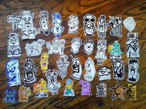 graffiti stickers  wizardlabelsdeviantartcom