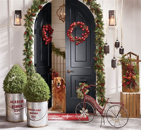 how to make a christmas door hanging on youtube tips solutions through the country door
