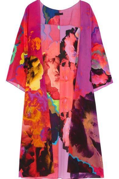 Eyeshadow Inez Athena athena procopiou inez printed silk kimono net a porter