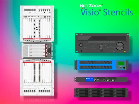 netzoom visio stencils netzoom visio 174 stencils library updated for data center