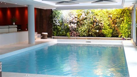 beautiful white wood glass modern design small indoor pool