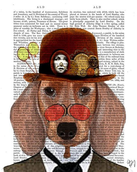 dachshund print dachshund queen by fabfunky home decor steunk dachshund doxie dog print with bowler hat by