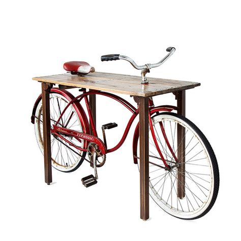 Bike Furniture by Portable Bicycle Tables Bike Table