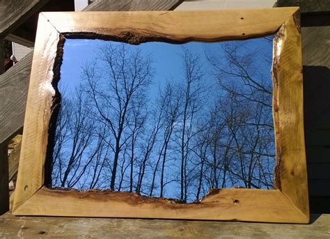 Custom Live Edge Recycled Pallet Hardwood Hanging Wall