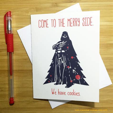 printable star wars christmas cards star wars christmas card funny christmas card star wars
