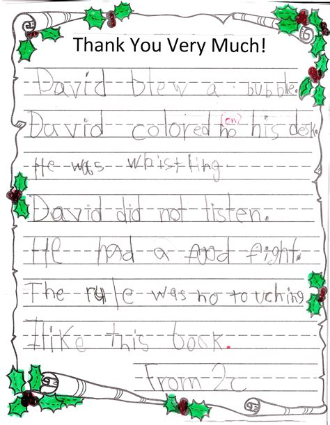 suggestions on thank you notes from a teacher valid save best new