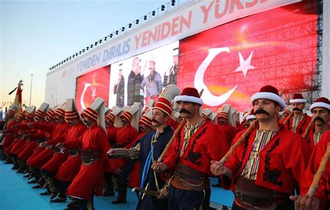 ottoman conquest of constantinople erdogan holds celebration on ottoman conquest of