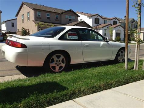 all car manuals free 1996 nissan 240sx user handbook purchase used 1996 nissan 240sx se coupe 2 door 2 4l with auto trans l k in tracy