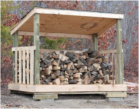Wood Shed Building by Building A Firewood Shed How To Create Modern Shed Plans