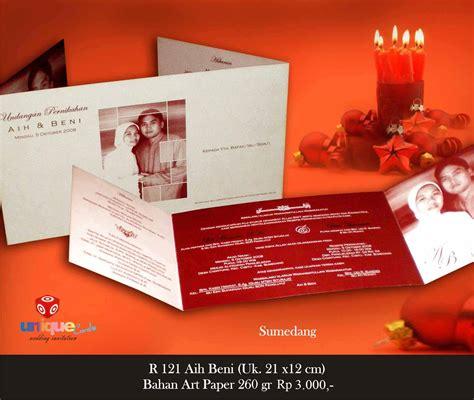 Undangan Soft Cover 2 undangan pernikahan softcover aih beni