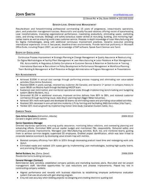 Executive Resume Buzzwords Resume Exles Consulting Sle Resume