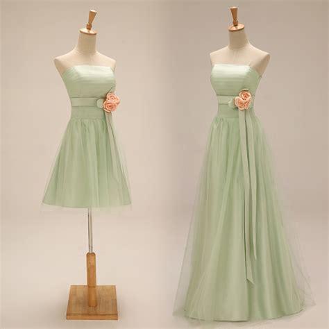 light green long dress aliexpress com buy light green bridesmaid dresses long