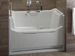 Easy Access Shower Bath Splinter Works Vessel Bathtub Mimics A Hammock