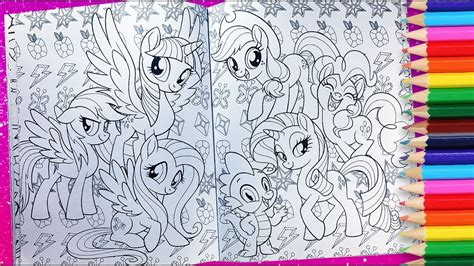 pony coloring activity book mlp  coloring