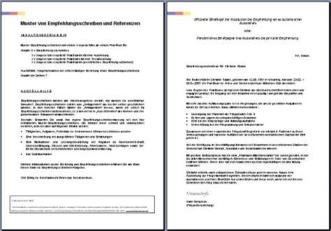 Praktikum Empfehlungsschreiben Muster Bewerbungsmappen Im Bewerbungsshop24 De Referenzschreiben 3 X Referenzen Vorgesetzten An