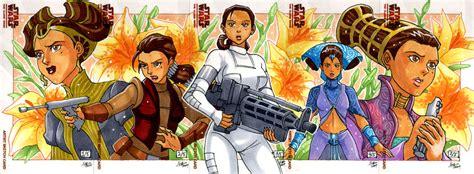 padme sketch cards clone wars padme amidala fan art