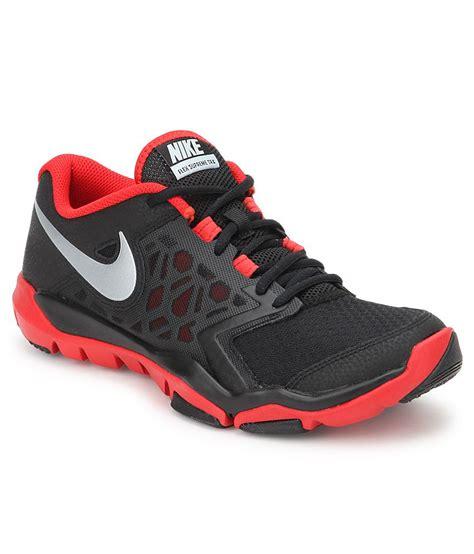 nike flex supreme tr 4 black sport shoes buy nike flex