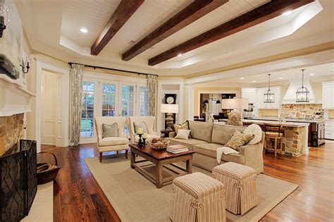 Home Decor Houzz by Memorial Hamptons Style Traditional Living Room