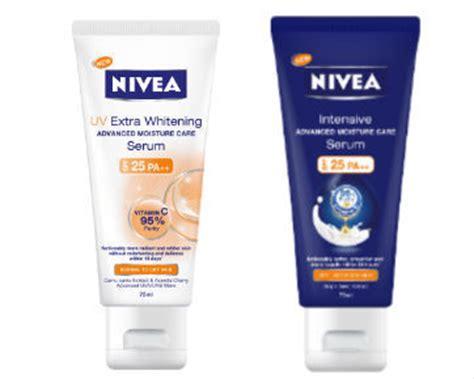 Serum Wajah Nivea nivea rilis serum tubuh pertama di indonesia