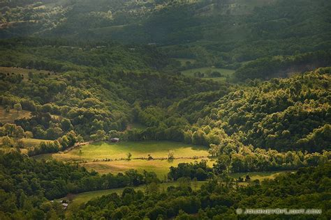 ozark mountain lights and rays of light in the ozarks arkansas photograph scenic
