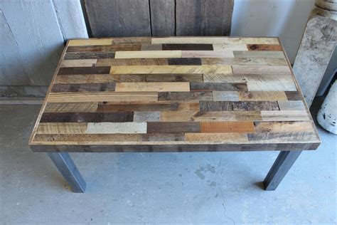 Diy Pallet Reclaimed Coffee Table Pallet Furniture Plans Pallet Wood Table Top