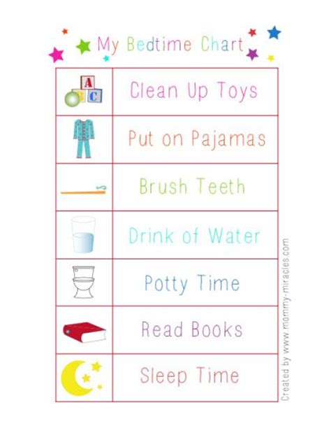 printable toddler morning routine chart bedtime routine printable for toddlers aviana shea my