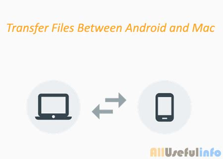 transfer files from android to mac how to transfer files folders between android mac