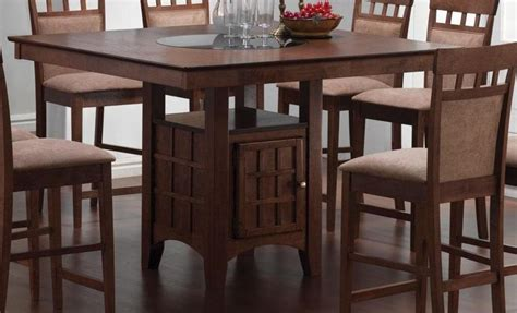 dining room sets with matching bar stools mix match walnut counter height dining room set from