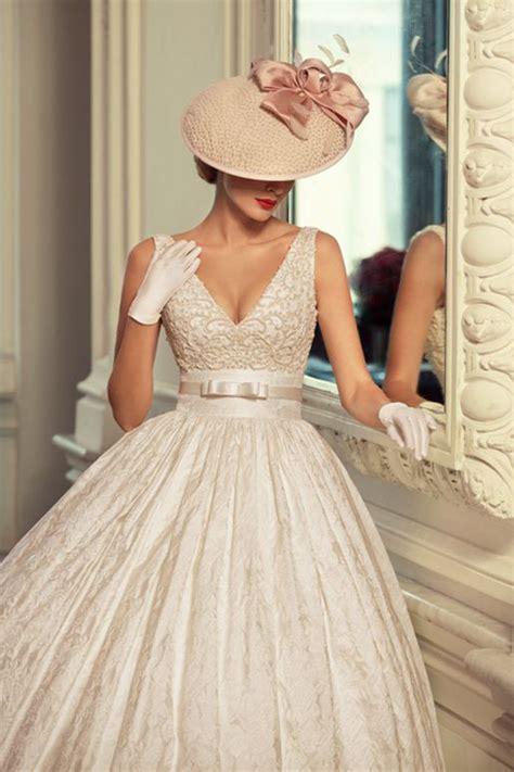 imagenes vestidos de novia años 50 apuesta por vestidos de novia a 241 os 50 luciasecasa