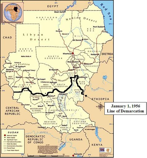 south sudan map u s policy toward sudan